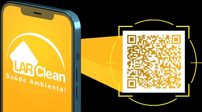 LarClean QR Code - Dedetizadora em Salvador, Goiânia e Palmas...